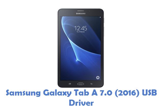 Samsung Galaxy Tab A 7.0 (2016) USB Driver