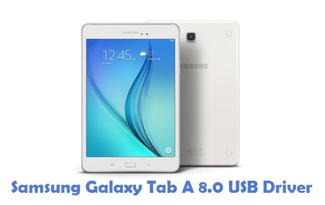 Samsung Galaxy Tab A 8.0 USB Driver