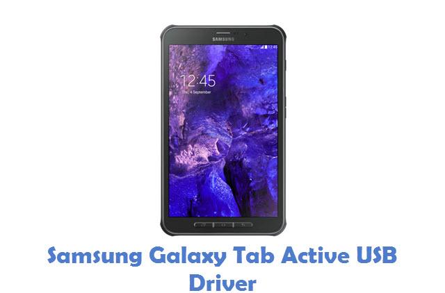 Samsung Galaxy Tab Active USB Driver