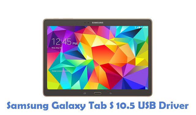 Samsung Galaxy Tab S 10.5 USB Driver