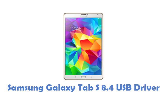 Samsung Galaxy Tab S 8.4 USB Driver
