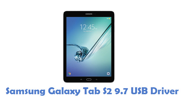 Samsung Galaxy Tab S2 9.7 USB Driver