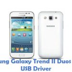 Samsung Galaxy Trend II Duos S7572 USB Driver
