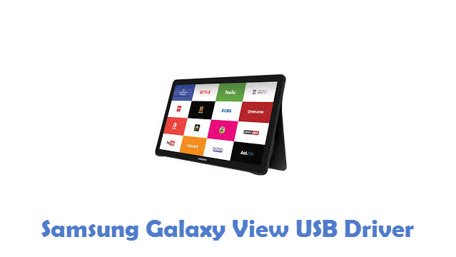 Samsung Galaxy View USB Driver