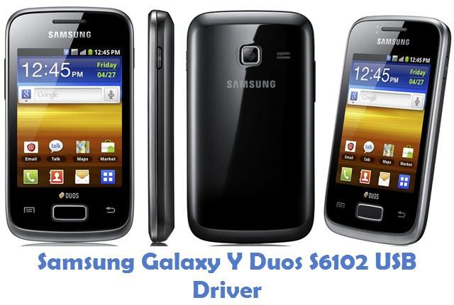 Samsung Galaxy Y Duos S6102 USB Driver