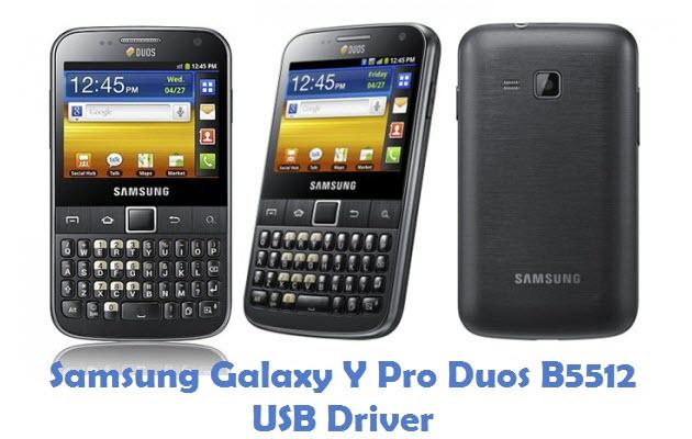 Samsung Galaxy Y Pro Duos B5512 USB Driver