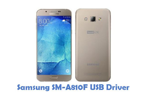 Samsung SM-A810F USB Driver