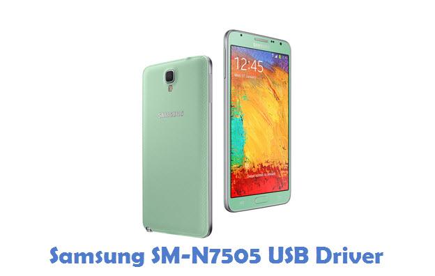 Samsung SM-N7505 USB Driver