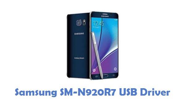Samsung SM-N920R7 USB Driver