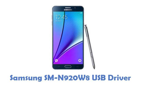 Samsung SM-N920W8 USB Driver