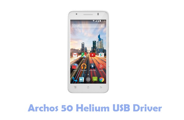 Download Archos 50 Helium USB Driver