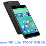 Gionee S10 Lite T7047 USB Driver