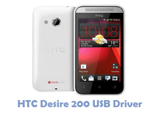 Download HTC Desire 200 USB Driver