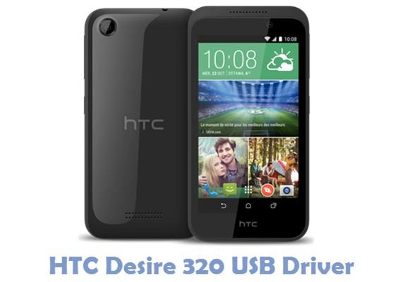 Download HTC Desire 320 USB Driver