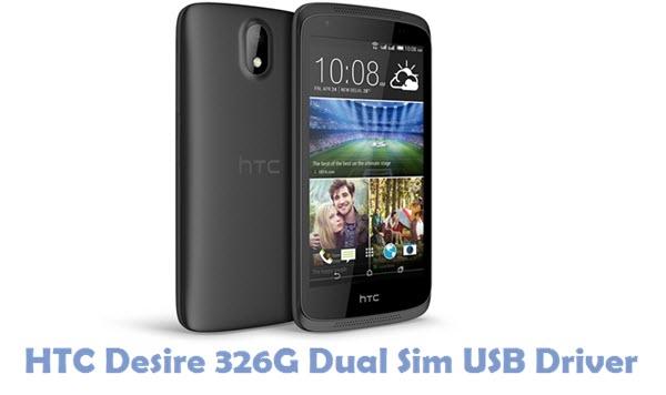 Download HTC Desire 326G Dual Sim USB Driver