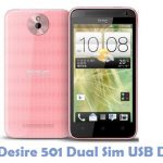 HTC Desire 501 Dual Sim USB Driver