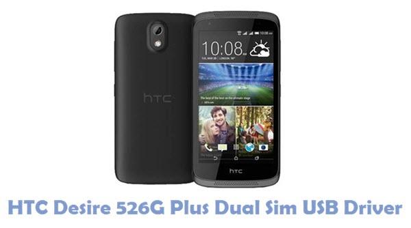 Download HTC Desire 526G Plus Dual Sim USB Driver