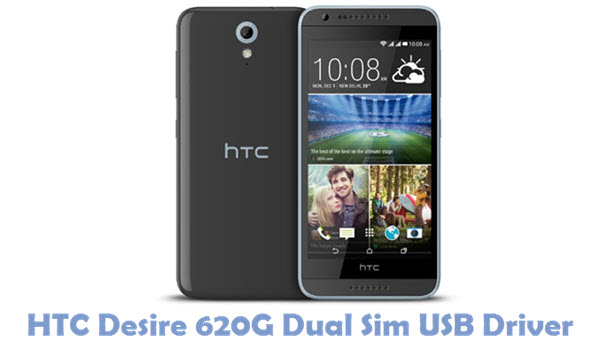 Download HTC Desire 620G Dual Sim USB Driver