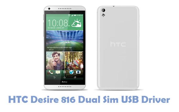 Download HTC Desire 816 Dual Sim USB Driver