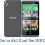 HTC Desire 820 Dual Sim USB Driver