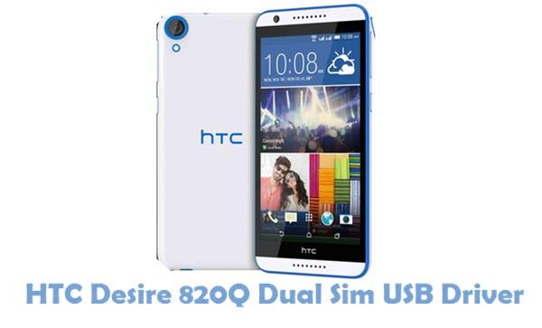 Download HTC Desire 820Q Dual Sim USB Driver