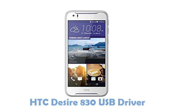 Download HTC Desire 830 USB Driver