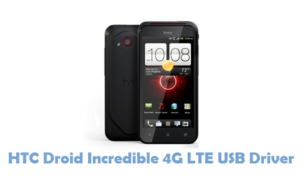 Download HTC Droid Incredible 4G LTE USB Driver