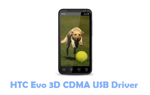 Download HTC Evo 3D CDMA USB Driver