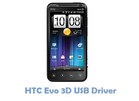 Download HTC Evo 3D USB Driver