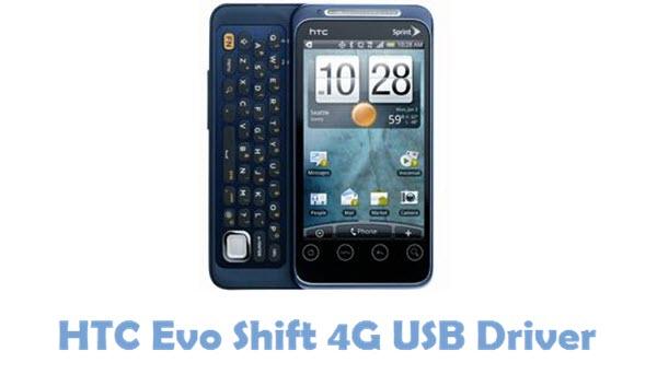 Download HTC Evo Shift 4G USB Driver