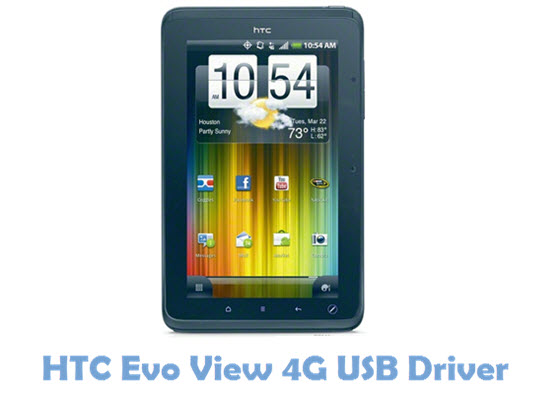 HTC Evo View 4G USB Driver