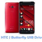 HTC J Butterfly USB Driver