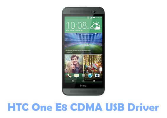 Download HTC One E8 CDMA USB Driver