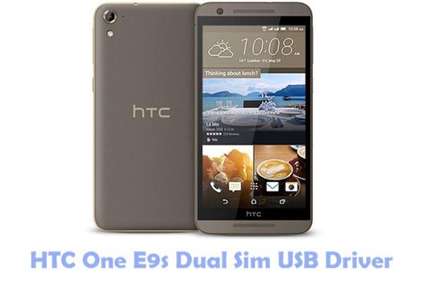 HTC One E9s Dual Sim USB Driver