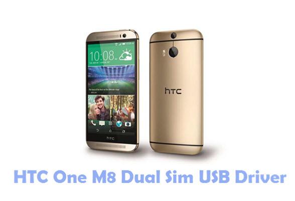 HTC One M8 Dual Sim USB Driver