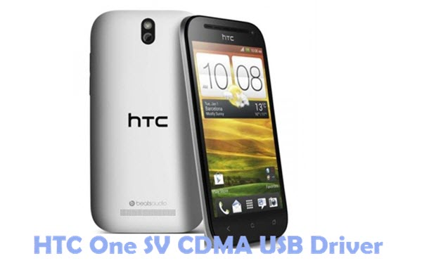 HTC One SV CDMA USB Driver