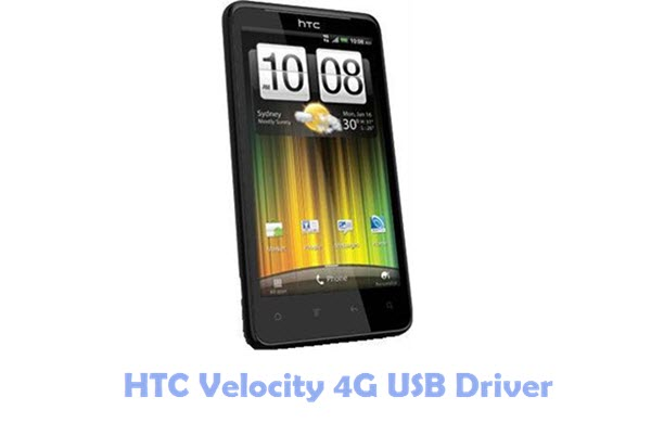 HTC Velocity 4G USB Driver