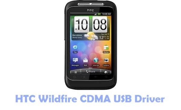 HTC Wildfire CDMA USB Driver