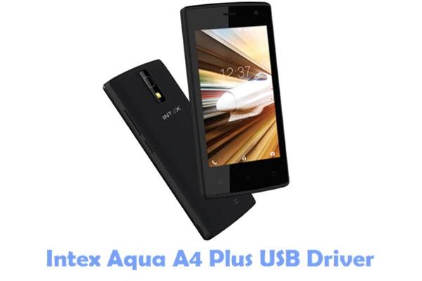 Download Intex Aqua A4 Plus USB Driver