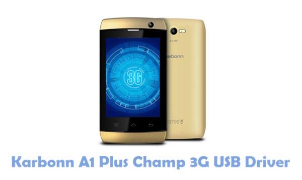 Download Karbonn A1 Plus Champ 3G USB Driver