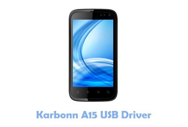 Download Karbonn A15 USB Driver