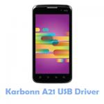 Karbonn A21 USB Driver