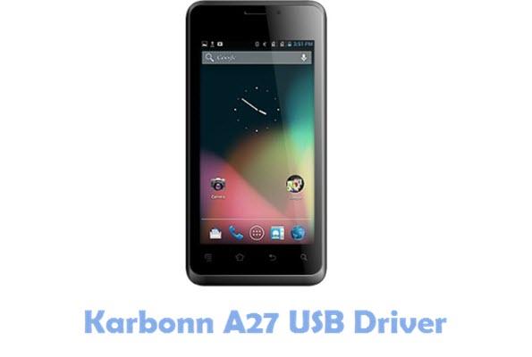 Download Karbonn A27 USB Driver