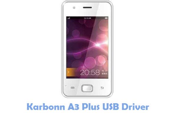 Download Karbonn A3 Plus USB Driver