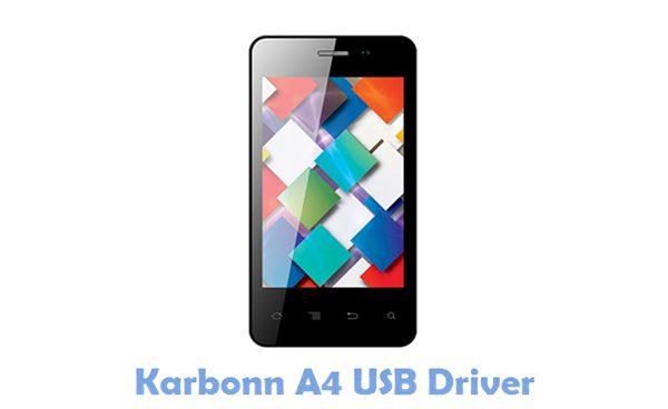 Download Karbonn A4 USB Driver