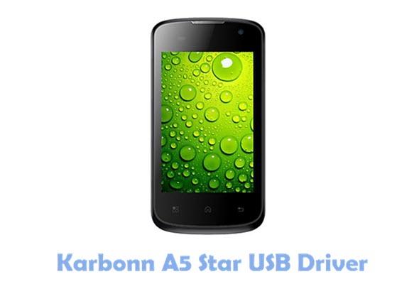 Download Karbonn A5 Star USB Driver