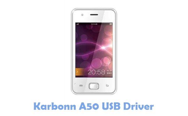 Download Karbonn A50 USB Driver