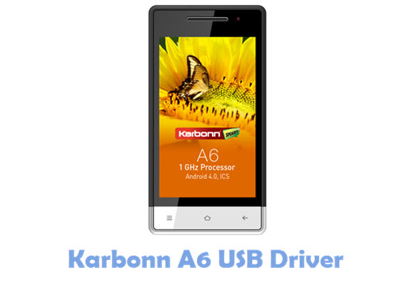 Download Karbonn A6 USB Driver