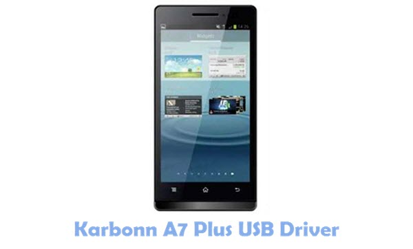 Download Karbonn A7 Plus USB Driver
