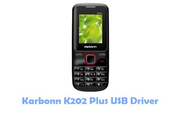 Download Karbonn K202 Plus USB Driver